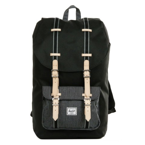 Herschel Sac à dos Little America Offset black/black denim