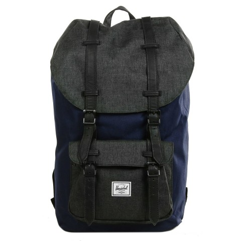 Herschel Sac à dos Little America peacoat/black crosshatch