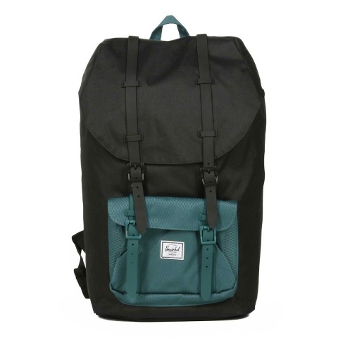 Herschel Sac à dos Little America black/deep teal