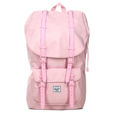 Herschel Sac à dos Little America pink lady crosshatch