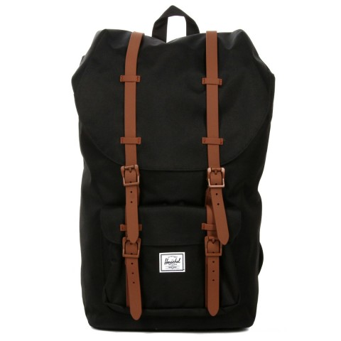 Herschel Sac à dos Little America black/saddle brown