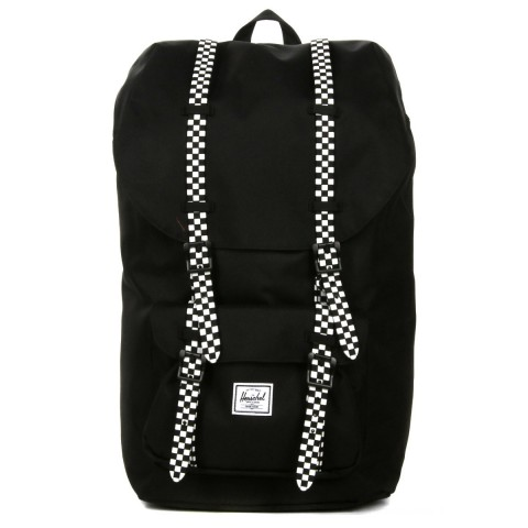 Herschel Sac à dos Little America black/checkerboard