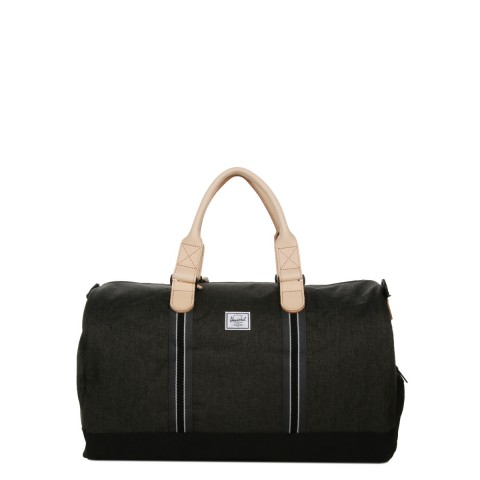 Herschel Sac de voyage Novel Offset 52 cm black crosshatch/black