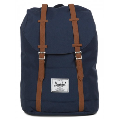 Herschel Sac à dos Retreat navy/tan