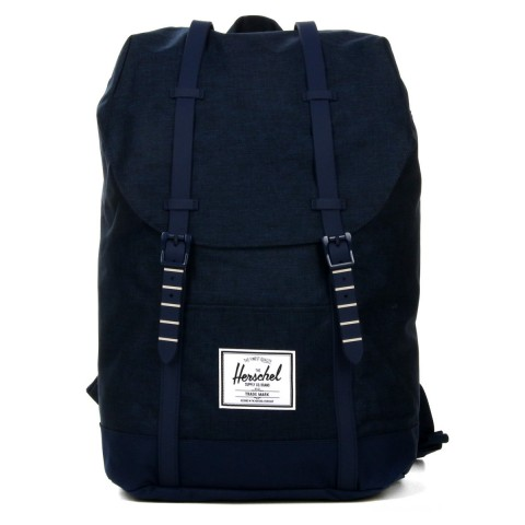 Herschel Sac à dos Retreat medievel blue crosshatch/medievel blue