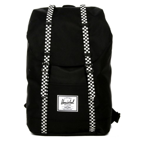 Herschel Sac à dos Retreat black/checkerboard