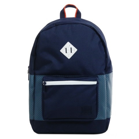 Herschel Sac à dos Ruskin Aspect peacoat/navy/vermillion orange