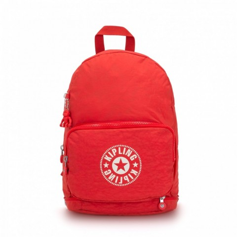 Kipling Sac Cabas avec Sangle Détachable Active Red NC
