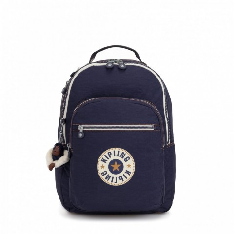 Kipling Grand Sac à Dos Avec Protection Pour Ordinateur Portable Active Blue Bl