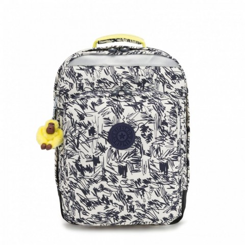 Kipling Grand Sac à Dos Avec Protection Pour Ordinateur Portable Scribble Fun Bl