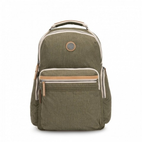 Kipling Grand sac à dos avec poches d'organisation Urban Khaki