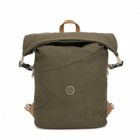 Kipling Grand sac à dos extensible avec compartiment pour laptop Urban Khaki