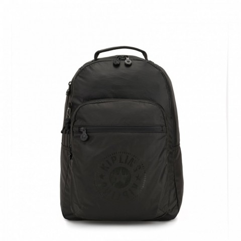 Kipling Sac à Dos Medium avec Compartiment pour Ordinateur Raw Black