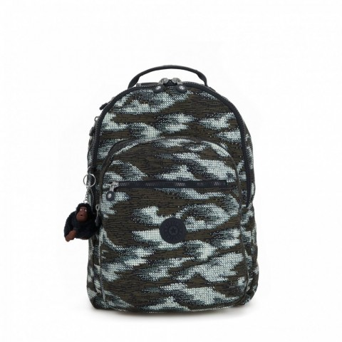 Kipling Grand Sac à Dos Avec Protection Pour Ordinateur Portable Dynamic Dots