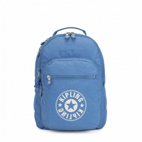 Kipling Sac à Dos Medium avec Compartiment pour Ordinateur Dynamic Blue