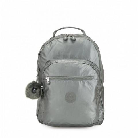 Kipling Grand Sac à Dos Avec Protection Pour Ordinateur Portable Metallic Stony