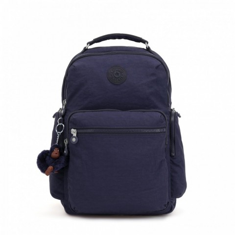Kipling Grand sac à dos avec poches d'organisation Active Blue