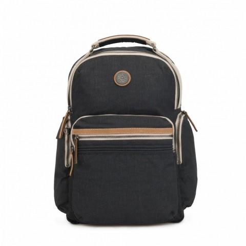 Kipling Grand sac à dos avec poches d'organisation Casual Grey