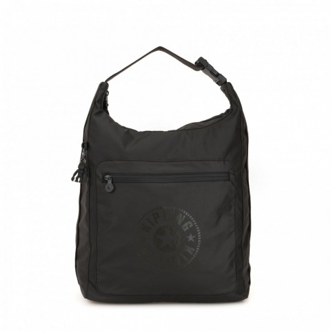 Kipling Grand sac à dos convertible Raw Black