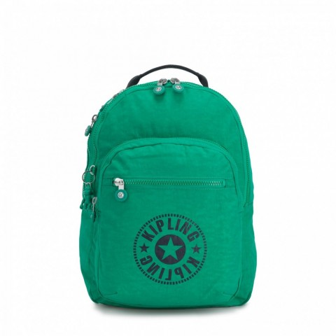 Kipling Sac à Dos Medium avec Compartiment pour Ordinateur Lively Green